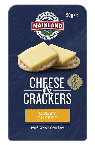 Colby Cheese & Crackers